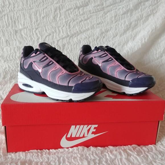 Nike Air Max Plus Ps Grey Pink | Poshmark
